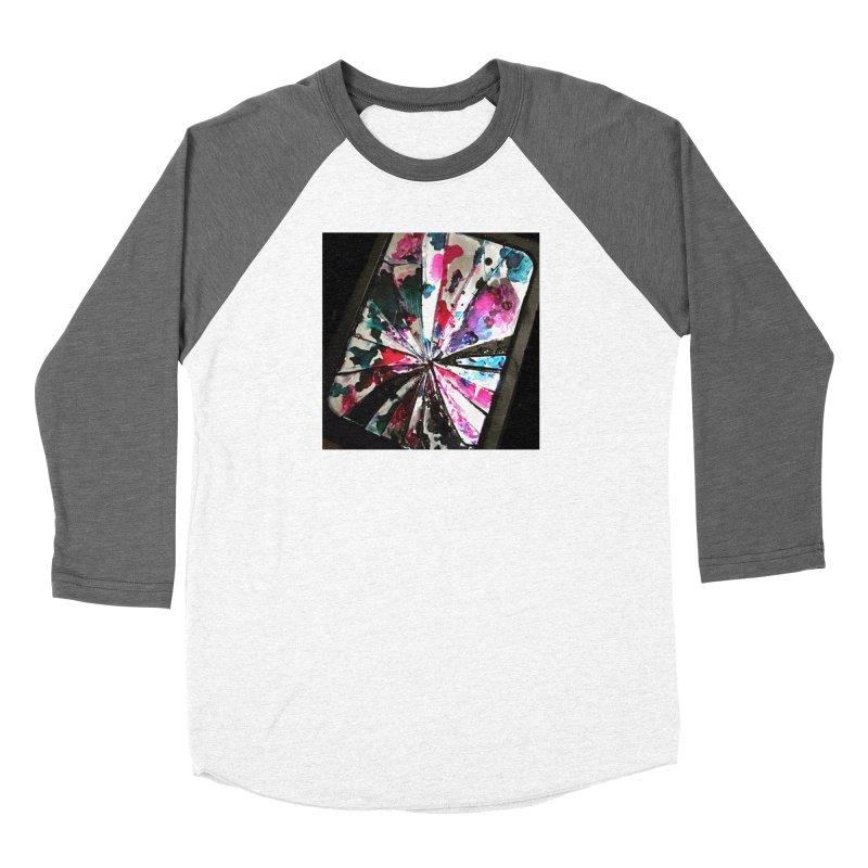shattered sight Women's Baseball Triblend Longsleeve T-Shirt by loveunbroken's Artist Shop