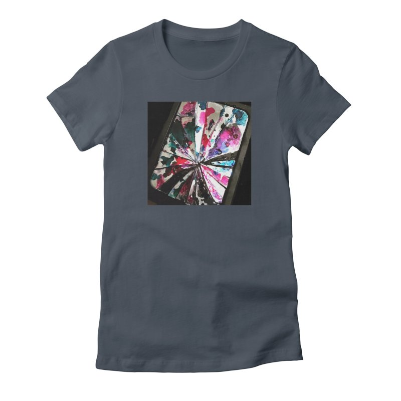 shattered sight Women's T-Shirt by loveunbroken's Artist Shop