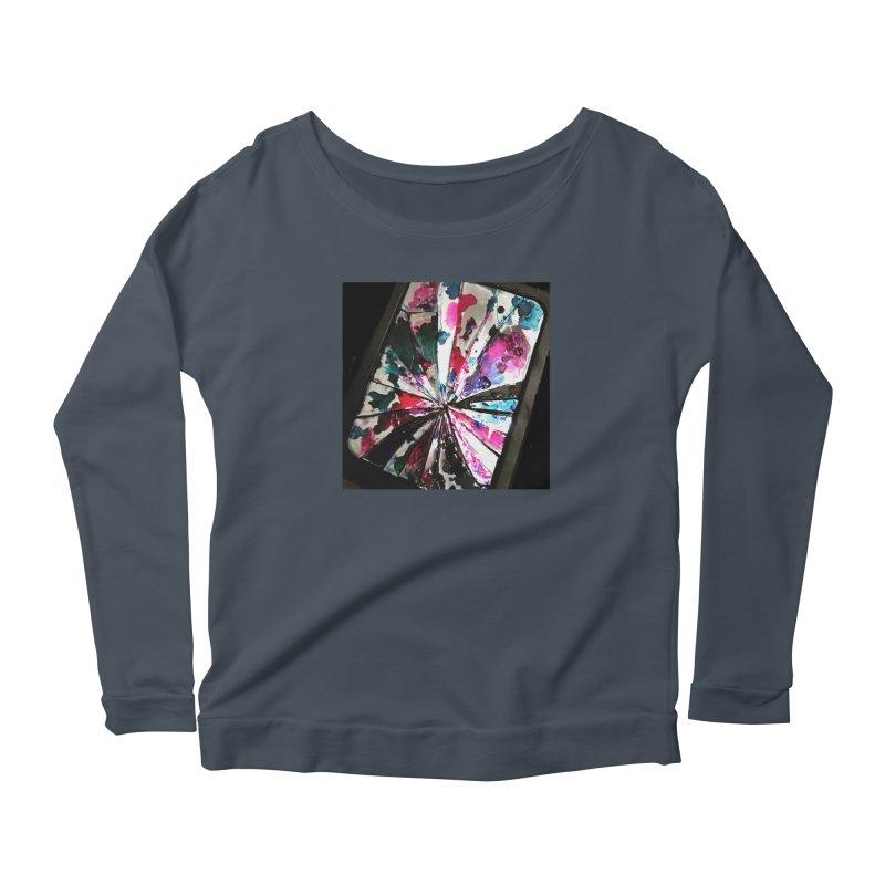 shattered sight Women's Scoop Neck Longsleeve T-Shirt by loveunbroken's Artist Shop