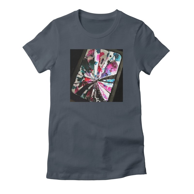 shattered sight Women's T-Shirt by loveunbroken's Artist Shop