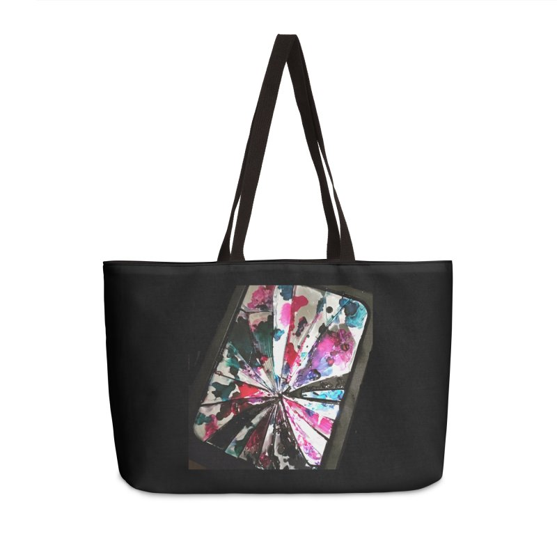 shattered sight Accessories Weekender Bag Bag by loveunbroken's Artist Shop