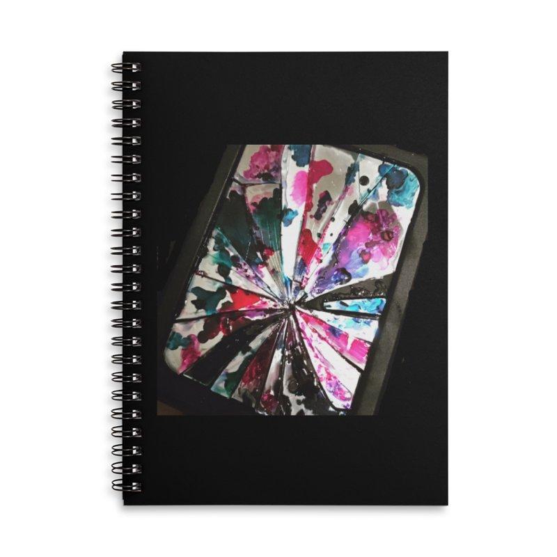 shattered sight Accessories Lined Spiral Notebook by loveunbroken's Artist Shop