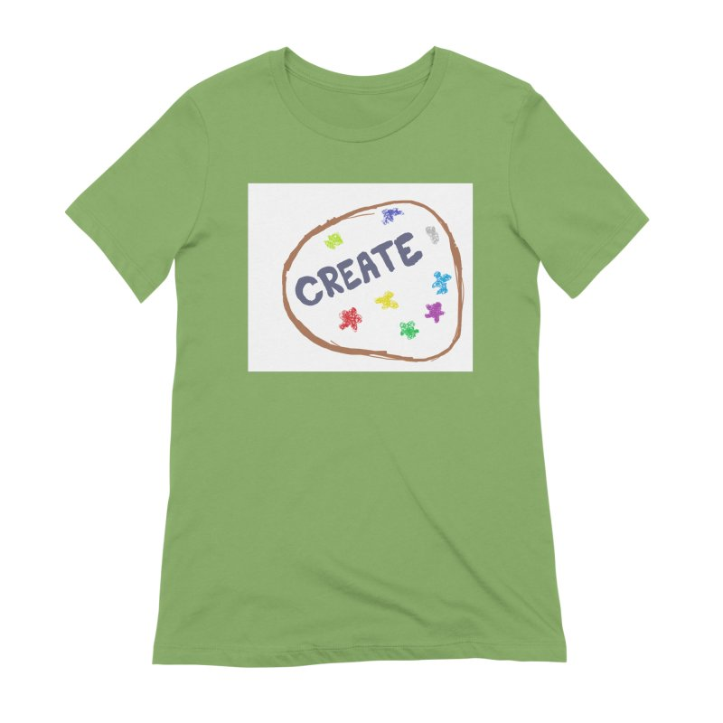 create Women's Extra Soft T-Shirt by loveunbroken's Artist Shop