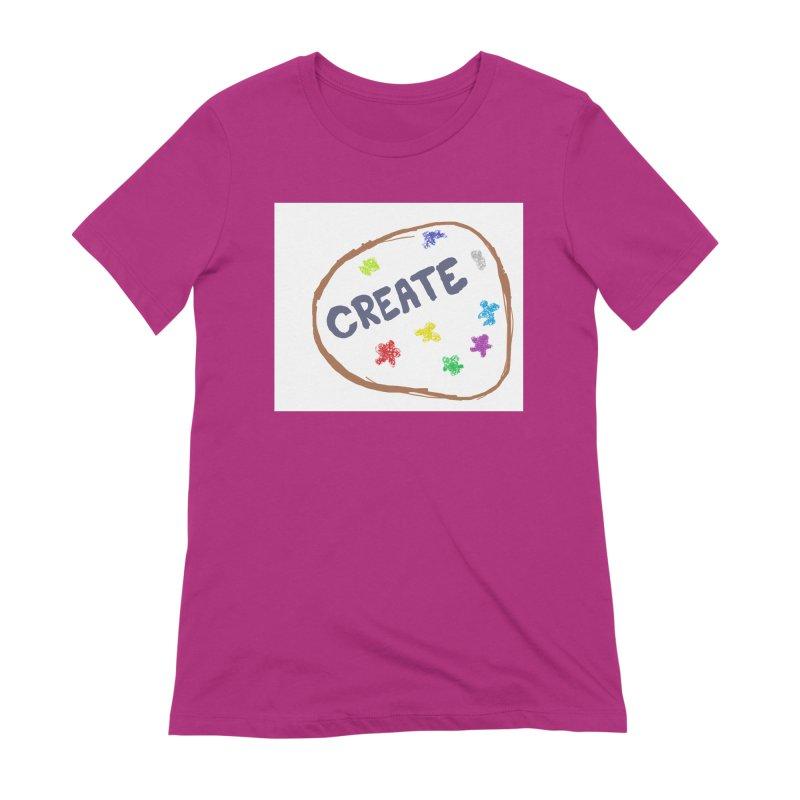 create Women's Extra Soft T-Shirt by loveunbroken's Artist Shop