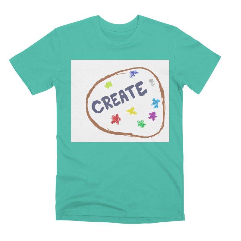 create Men's Premium T-Shirt by loveunbroken's Artist Shop
