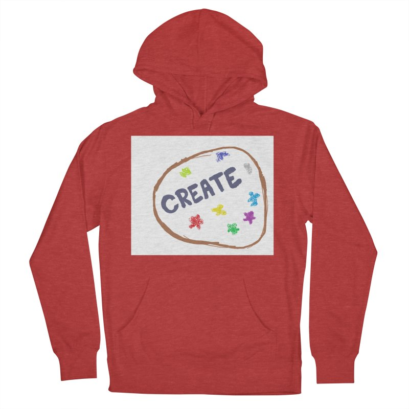 create Men's French Terry Pullover Hoody by loveunbroken's Artist Shop