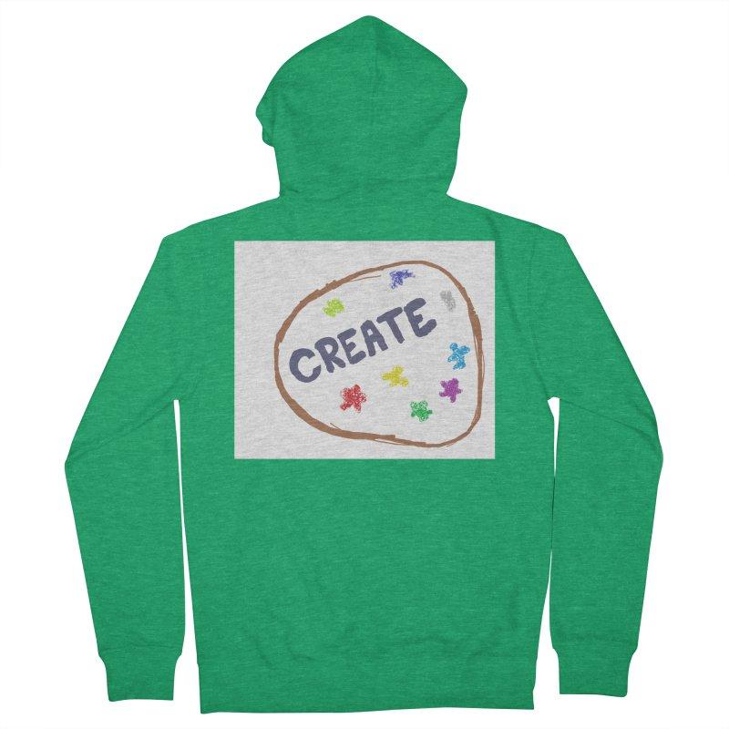 create Women's Zip-Up Hoody by loveunbroken's Artist Shop
