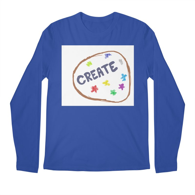 create Men's Regular Longsleeve T-Shirt by loveunbroken's Artist Shop