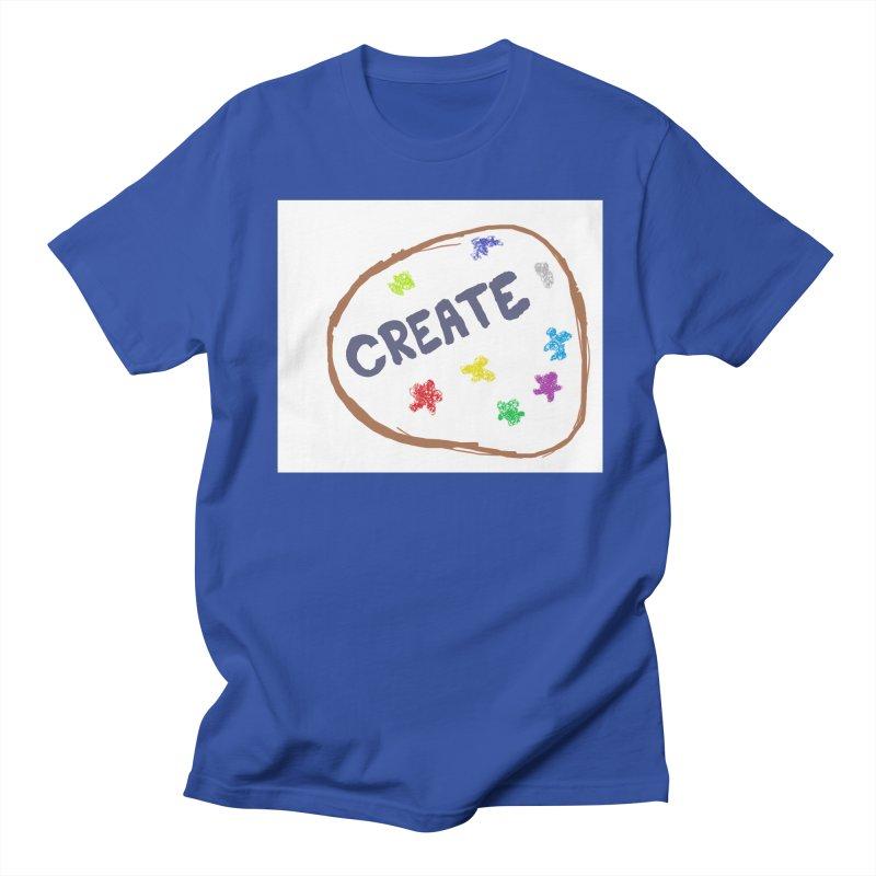 create Men's Regular T-Shirt by loveunbroken's Artist Shop