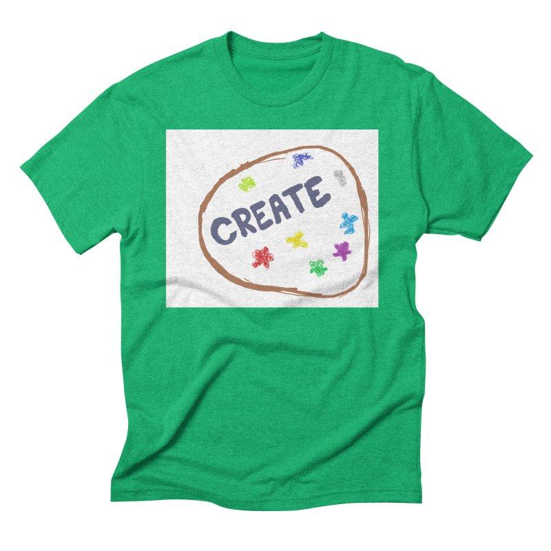 create Men's Triblend T-Shirt by loveunbroken's Artist Shop