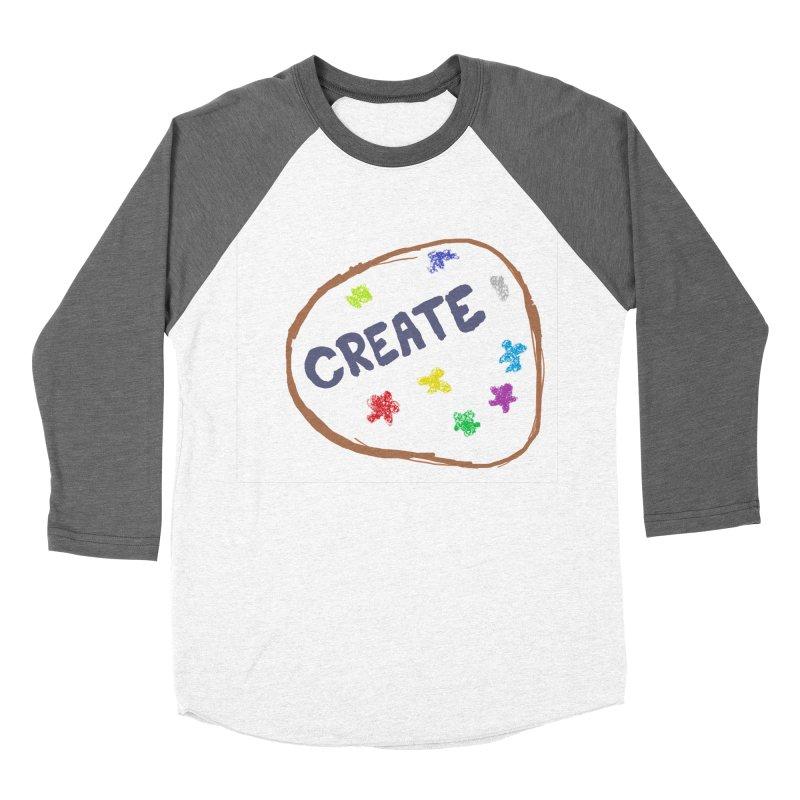 create Women's Baseball Triblend Longsleeve T-Shirt by loveunbroken's Artist Shop