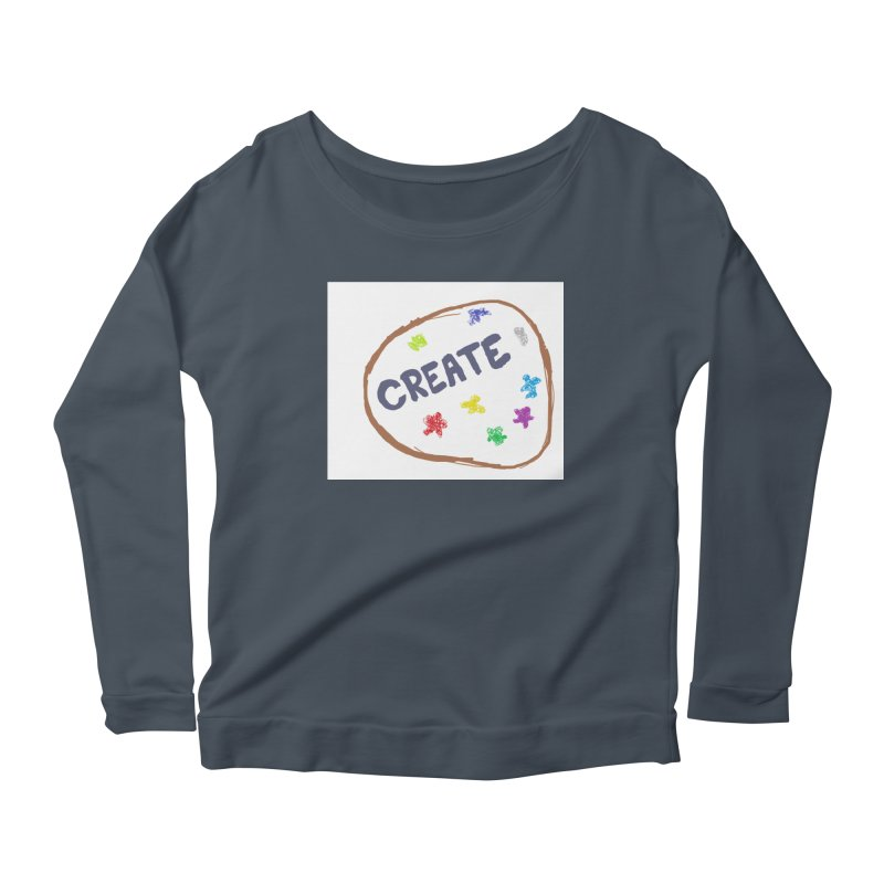 create Women's Scoop Neck Longsleeve T-Shirt by loveunbroken's Artist Shop