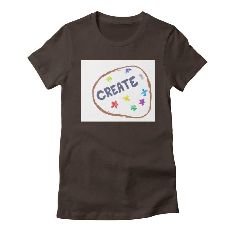 create Women's Fitted T-Shirt by loveunbroken's Artist Shop