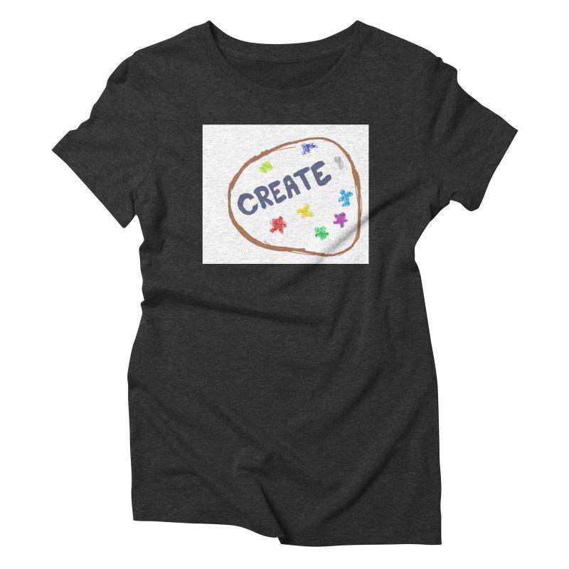 create Women's Triblend T-Shirt by loveunbroken's Artist Shop