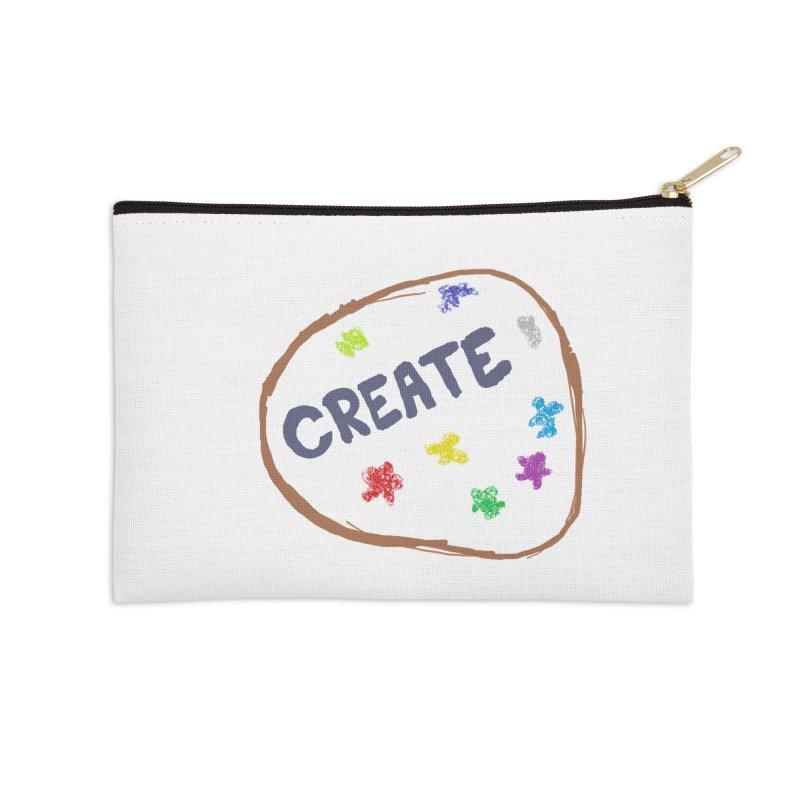 create Accessories Zip Pouch by loveunbroken's Artist Shop