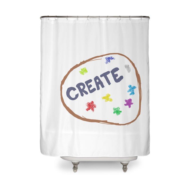 create Home Shower Curtain by loveunbroken's Artist Shop