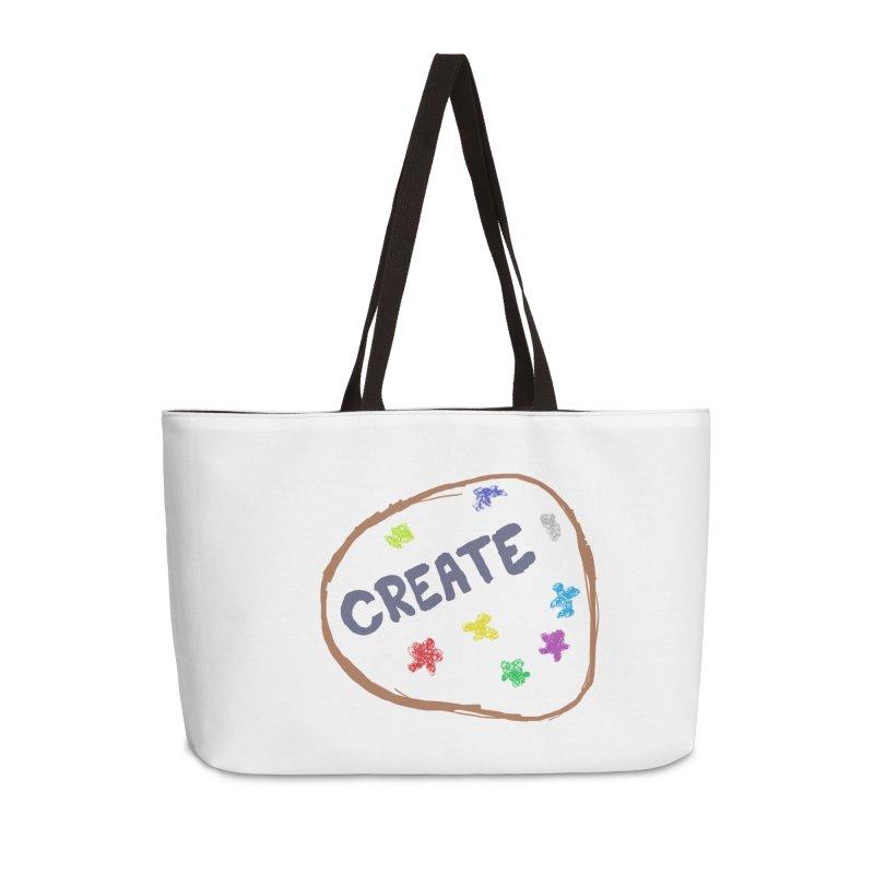 create Accessories Weekender Bag Bag by loveunbroken's Artist Shop