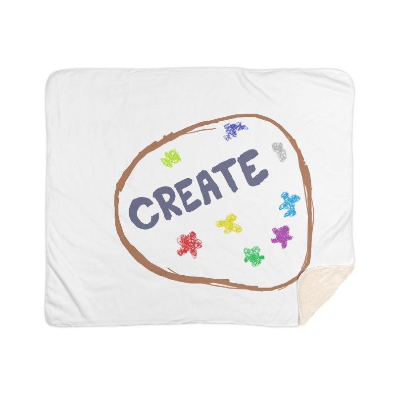 create Home Sherpa Blanket Blanket by loveunbroken's Artist Shop
