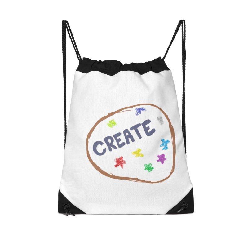 create Accessories Drawstring Bag Bag by loveunbroken's Artist Shop