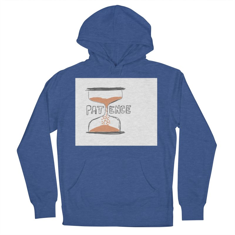patience Men's French Terry Pullover Hoody by loveunbroken's Artist Shop