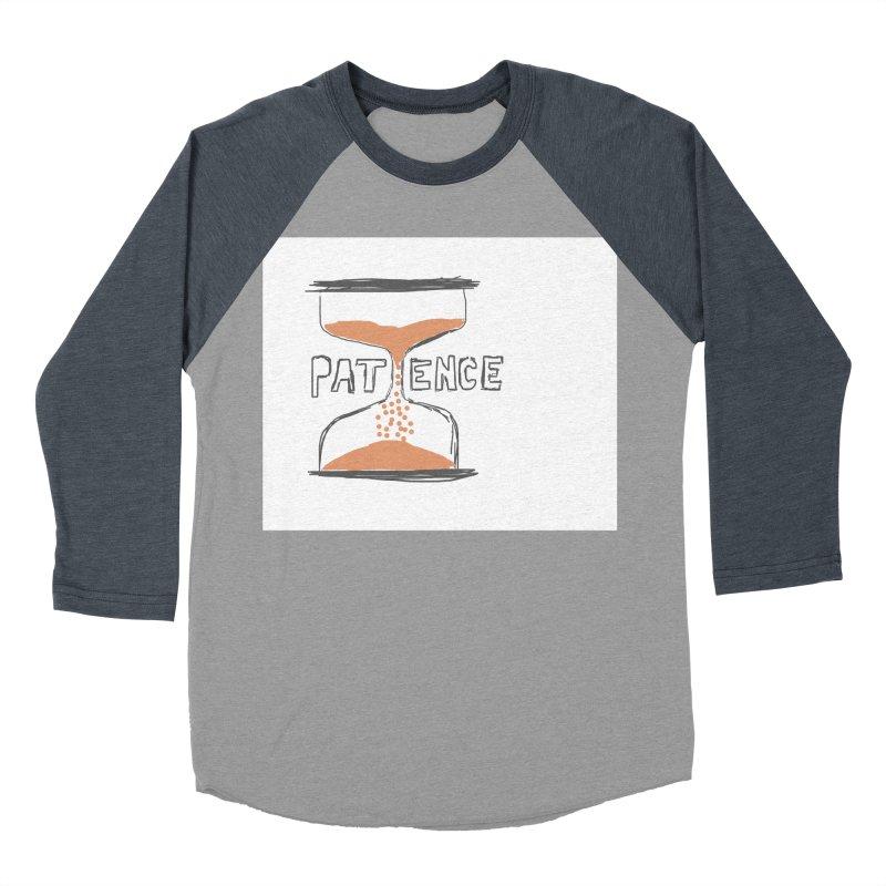 patience Women's Baseball Triblend Longsleeve T-Shirt by loveunbroken's Artist Shop