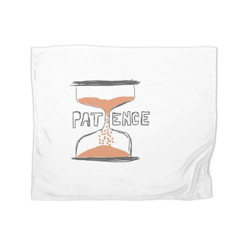 patience Home Fleece Blanket Blanket by loveunbroken's Artist Shop
