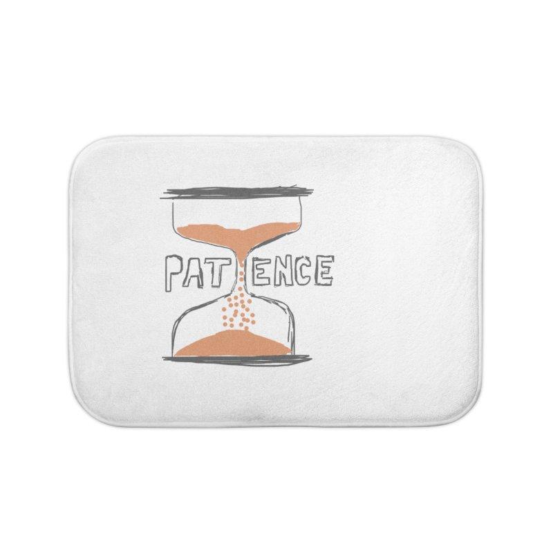 patience Home Bath Mat by loveunbroken's Artist Shop