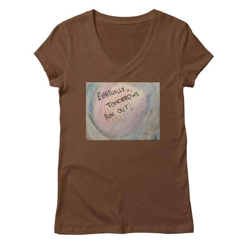 no tomorrows Women's Regular V-Neck by loveunbroken's Artist Shop