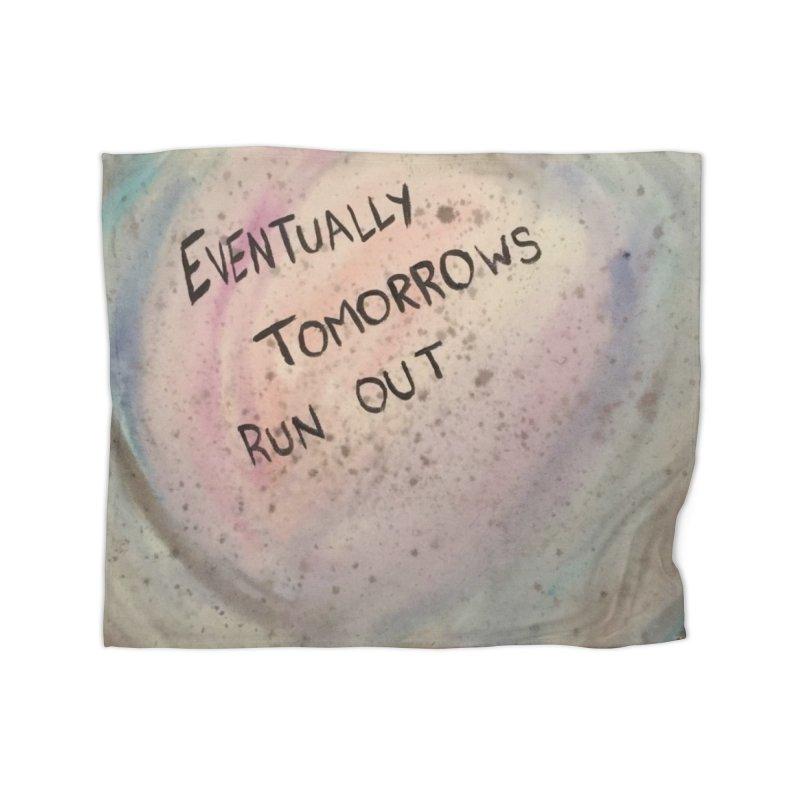no tomorrows Home Fleece Blanket Blanket by loveunbroken's Artist Shop