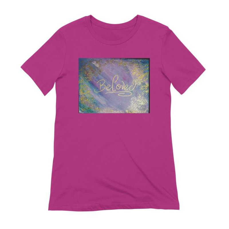 beloved Women's Extra Soft T-Shirt by loveunbroken's Artist Shop
