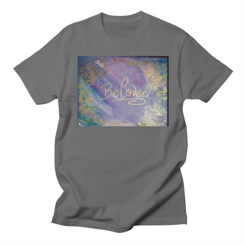 beloved Men's Regular T-Shirt by loveunbroken's Artist Shop