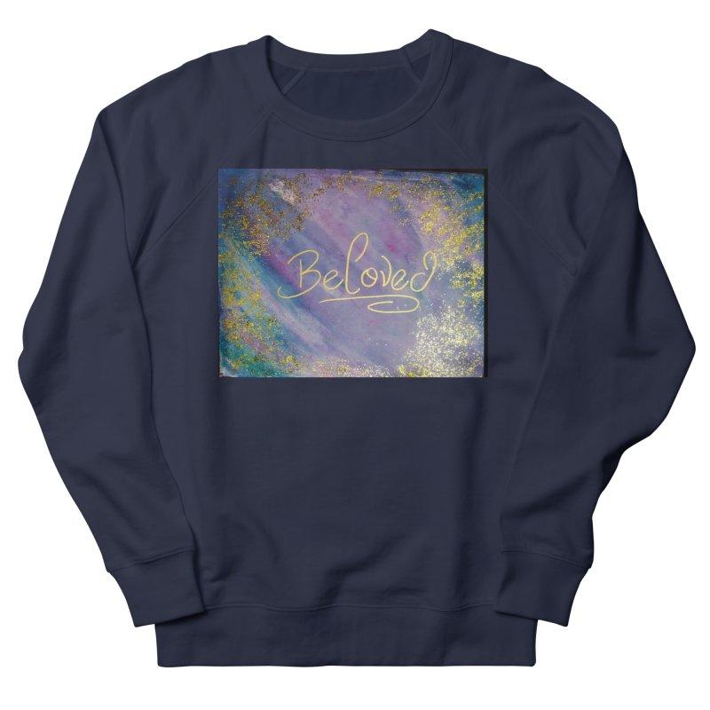 beloved Men's French Terry Sweatshirt by loveunbroken's Artist Shop