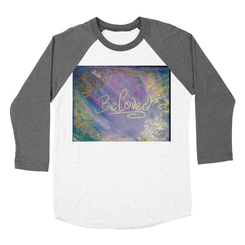 beloved Women's Baseball Triblend Longsleeve T-Shirt by loveunbroken's Artist Shop