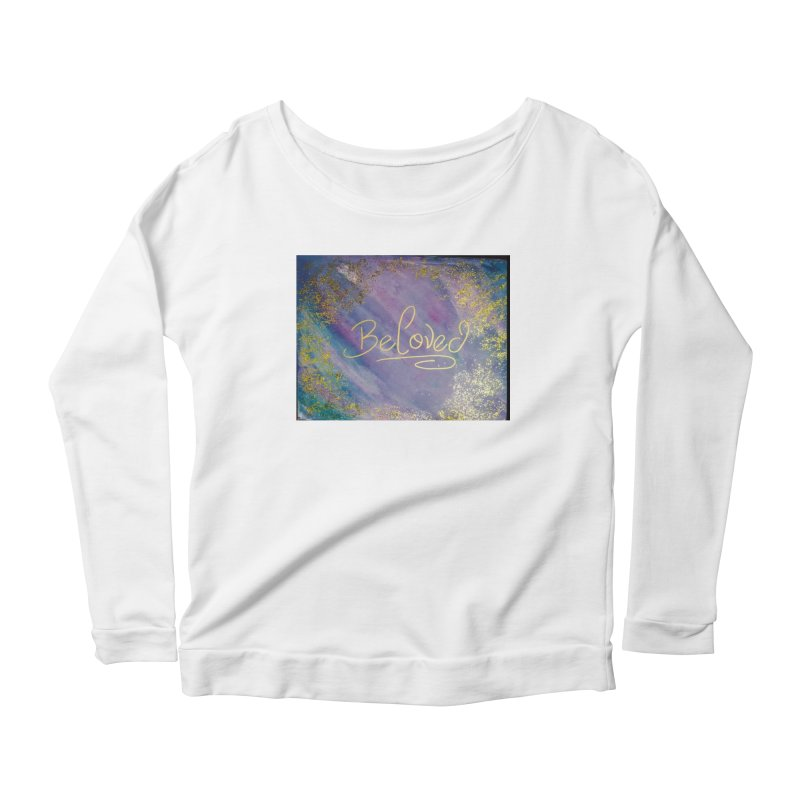 beloved Women's Scoop Neck Longsleeve T-Shirt by loveunbroken's Artist Shop
