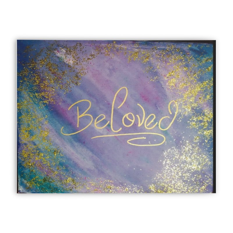 beloved Home Stretched Canvas by loveunbroken's Artist Shop