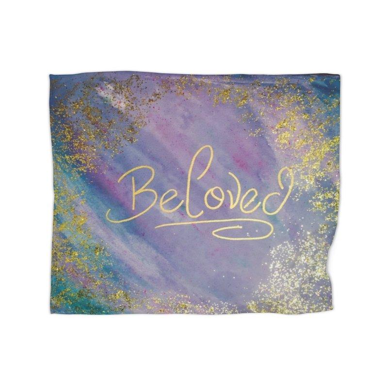 beloved Home Fleece Blanket Blanket by loveunbroken's Artist Shop