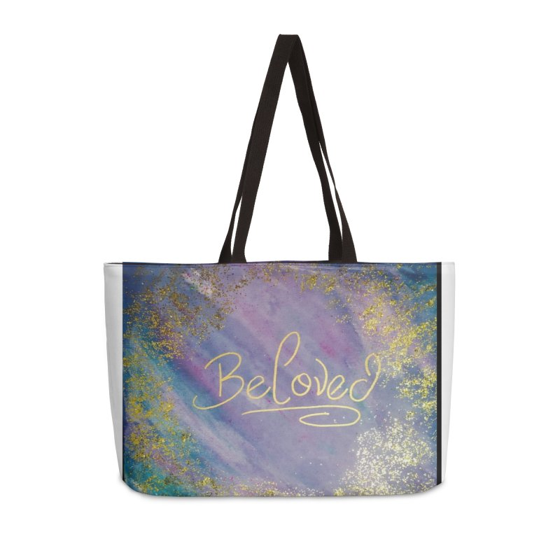 beloved Accessories Weekender Bag Bag by loveunbroken's Artist Shop