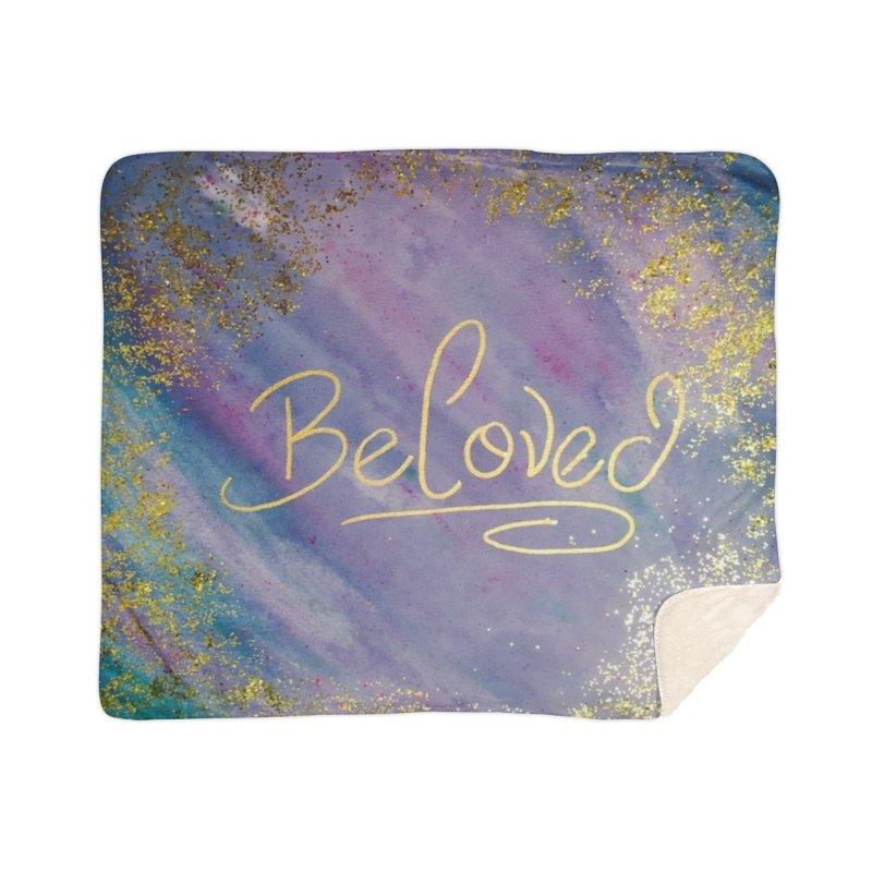 beloved Home Sherpa Blanket Blanket by loveunbroken's Artist Shop