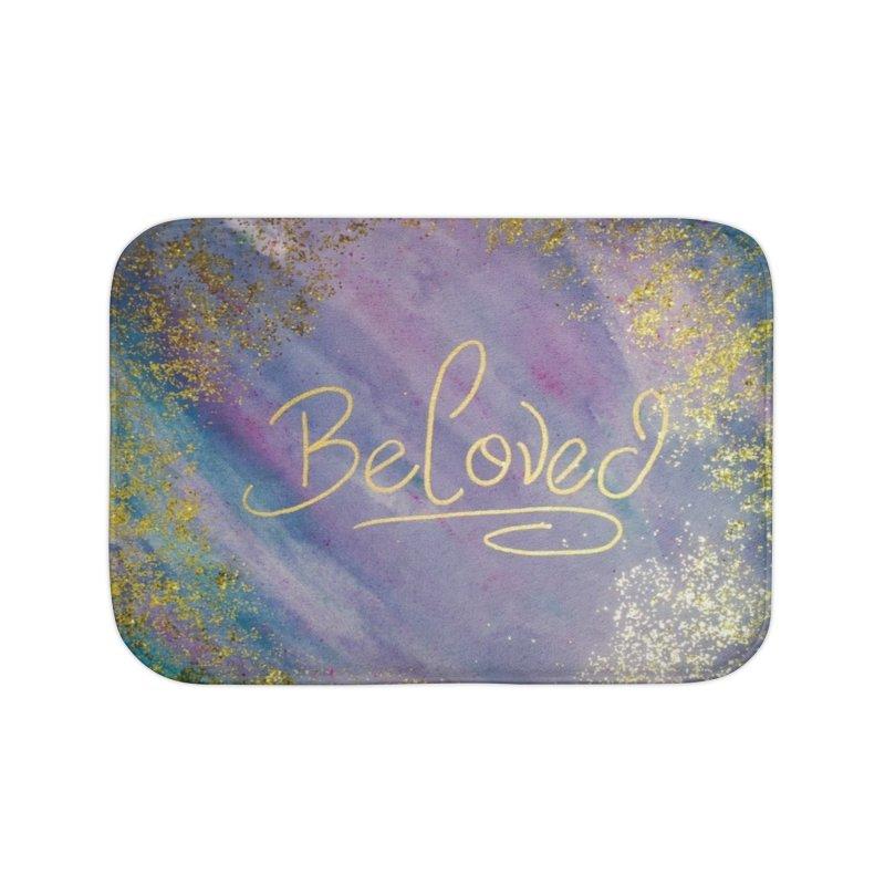 beloved Home Bath Mat by loveunbroken's Artist Shop