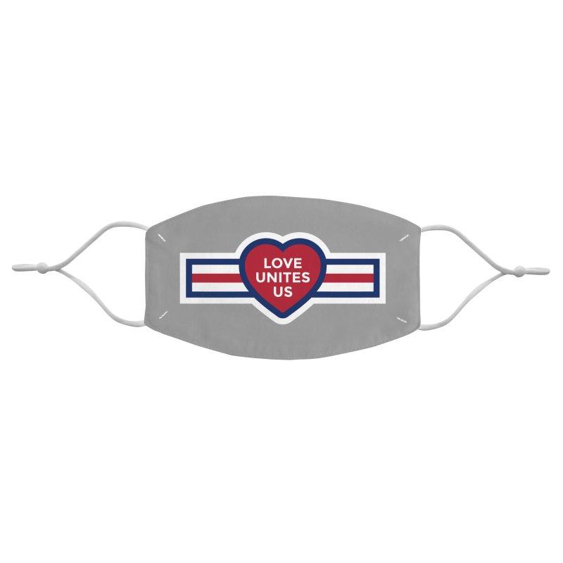 Love Unites Us Accessories Face Mask by loveunitesus's Artist Shop