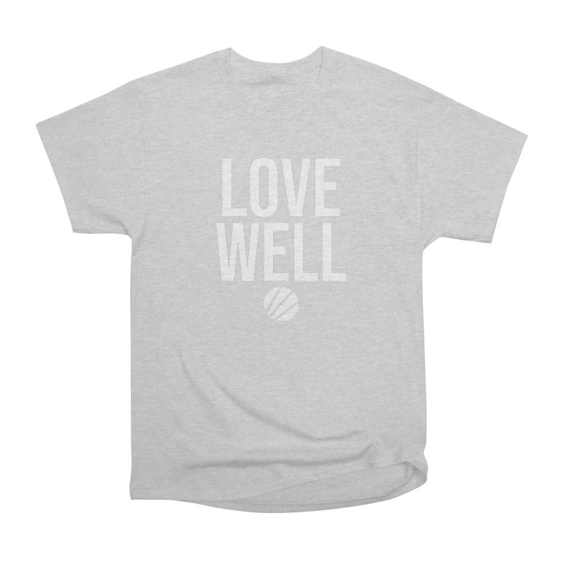 Lovewell Message (White Text) Men's Heavyweight T-Shirt by Lovewell's Artist Shop
