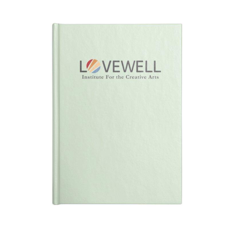 Lovewell Logo 2018 Accessories Notebook by Lovewell's Artist Shop