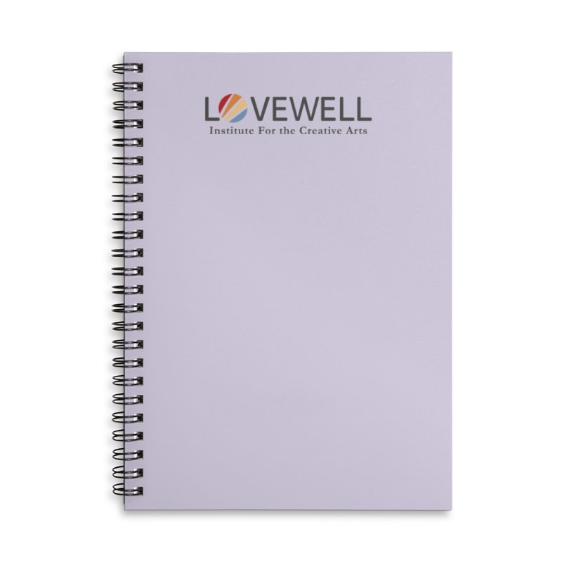 Lovewell Logo 2018 Accessories Lined Spiral Notebook by Love Well's Artist Shop