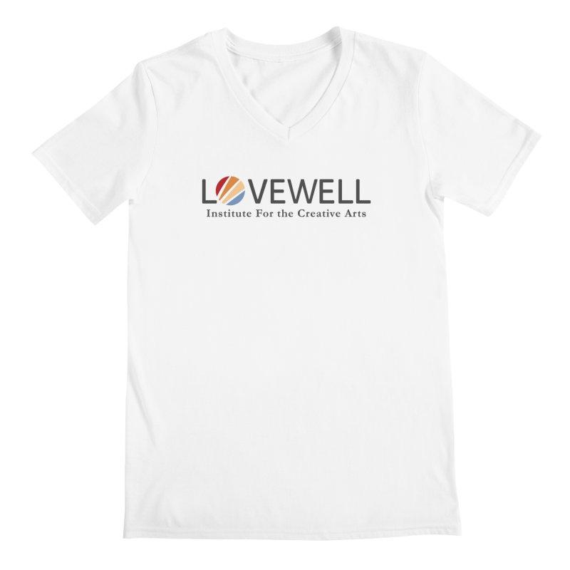 Lovewell Logo 2018 Men's Regular V-Neck by Love Well's Artist Shop