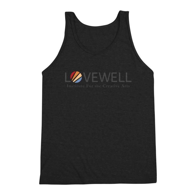 Lovewell Logo 2018 Men's Triblend Tank by Love Well's Artist Shop