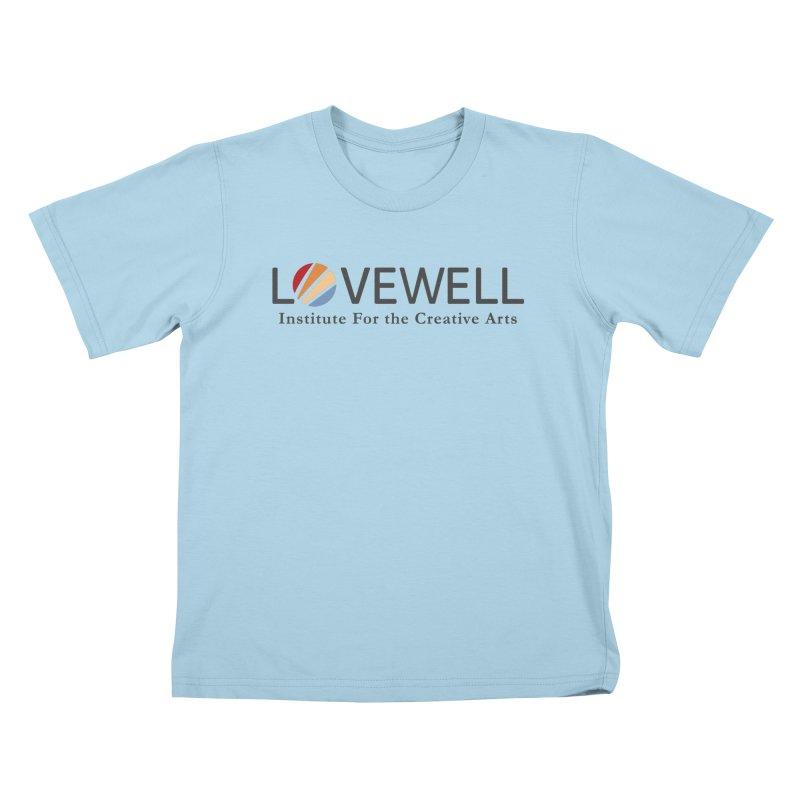 Lovewell Logo 2018 Kids T-Shirt by Lovewell's Artist Shop