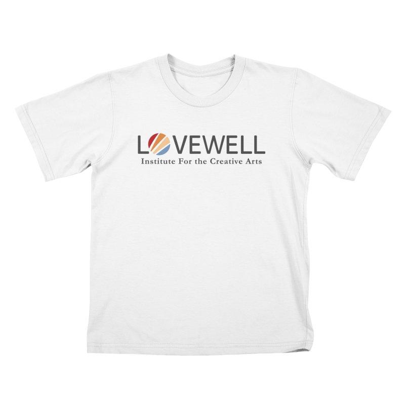 Lovewell Logo 2018 Kids T-Shirt by Love Well's Artist Shop