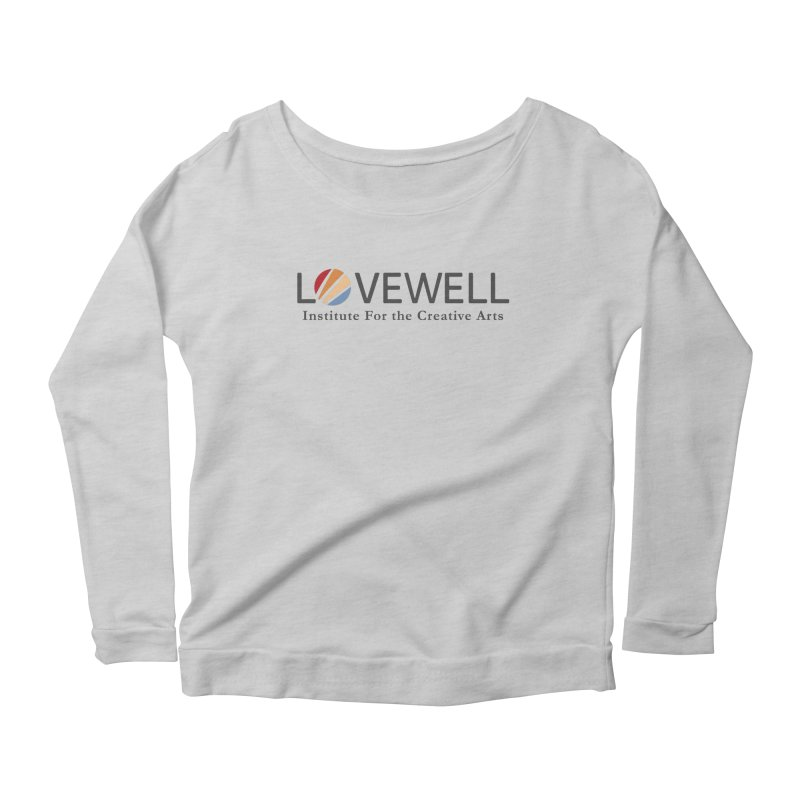 Lovewell Logo 2018 Women's Scoop Neck Longsleeve T-Shirt by Lovewell's Artist Shop