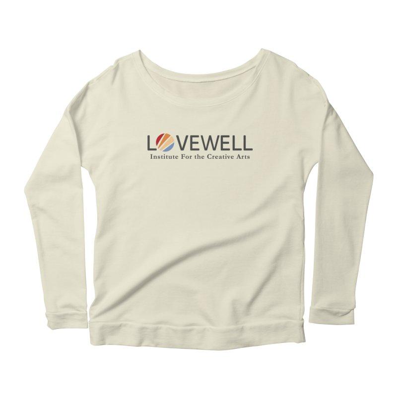 Lovewell Logo 2018 Women's Scoop Neck Longsleeve T-Shirt by Lovewell's Artist Shop