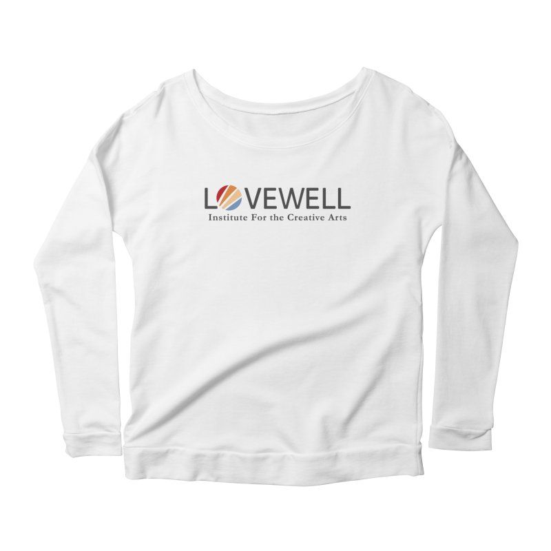 Lovewell Logo 2018 Women's Scoop Neck Longsleeve T-Shirt by Love Well's Artist Shop